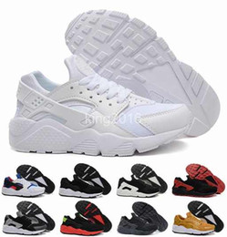running trainers shoes air UK - 2016 new cheap air huarache men women running shoes, high quality huaraches sneakers trainers athletics shoes Eur 36-45 free shipping