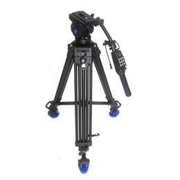$enCountryForm.capitalKeyWord Canada - Pro 1.8m Video Fluid Drag Tripod Benro KH-26NL + Remote Control Handle + Three Dimensional Hydraulic Head For Canon Sony Camera Camcorder