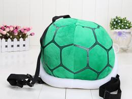 "$enCountryForm.capitalKeyWord Canada - 13.5"" 35cm Super Mario Bros Cournot Turtle Shell backpack one piece Turtle Shell backpack Plush Toy Doll support wholesale"