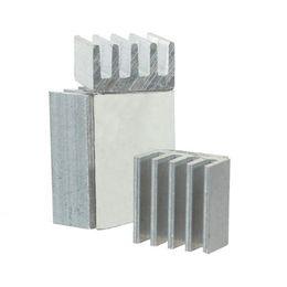 Vga heat sink online shopping - Heat Sink for Voltage Regulator Cooling Radiator Aluminum Heatsink Chip CPU GPU VGA RAM IC Cooler Kit for Raspberry