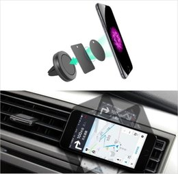 magnet air Australia - Car Mount, Air Vent Magnetic Universal Car Mount Phone Holder for iPhone 6 7 8 x, One Step Mounting ,Reinforced Magnet, Easier Safer Driving