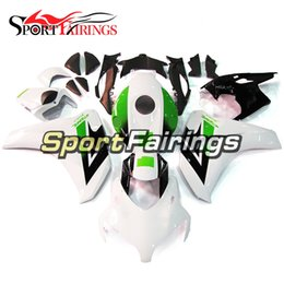 $enCountryForm.capitalKeyWord Canada - White Green Black Complete Fairing Kit For Honda CBR1000RR Year 2008 2011 08 09 10 11 ABS Motorcycle Fairing Kit Bodywork Motorbike Bodywork