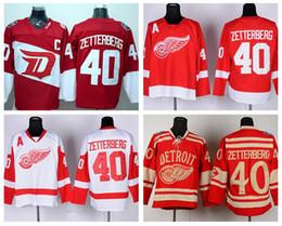 20833c5f0 ... Henrik Zetterberg 40 Detroit Red Wings Stadium Series Ice Hockey  Jerseys Winter Classic For Sport Fans Reebok ...
