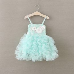 $enCountryForm.capitalKeyWord Canada - 2016 Hot kids Formal Lace Baby Princess Bridesmaid Flower Girl Dresses Wedding Kids Party Prom Dresses