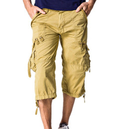 Discount Long Cargo Shorts Men | 2017 Long Cargo Shorts Men on ...