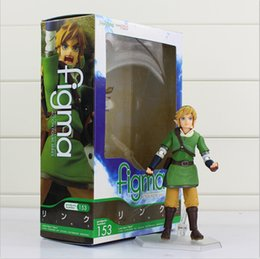 $enCountryForm.capitalKeyWord Canada - The Lengend Of Zelda Link with Skyward Sword Figma 153 PVC Action Figure Collection Model Kids Toy free shipping EMS