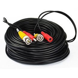 Rca video extension online shopping - 33Feet M BNC RCA Audio Video Power Extension Cable DVR Surveillance Wire suitable for CCTV Security Camera CCT_213