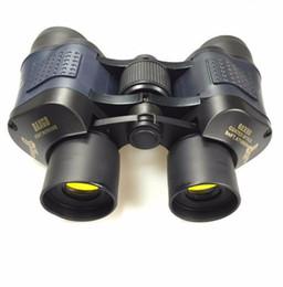 vision optics 2019 - Top 60x60 Binoculars High Power HD Binoculo Telescope Red Film Teleskop Reticle Optic hd vision Professional Monoculo hu