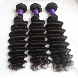 cheap 18 human hair extensions 2019 - Brazilian Peruvian Indian Malaysian Deep Wave Human Hair Bundles Cheap Unprocessed Virgin Hair Weaves Double Weft Extens