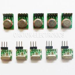 Remote Data Canada - Super Mini 3.6~5.5V RF ASK OOK Wireless Data Transfer RX TX Remote Module 433M