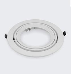 Круглый встроенный AR111 держатель лампы Par30 прожектор стенд 20шт