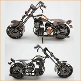 China Newest Design American Style Iron Art Metal Craft Harley Motorcycle Model Toy Motorbike Models Toys Home Decoration Accessories Souvenir cheap motorbike accessories suppliers