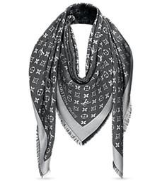 grigio Check donna lana cotone cashmere sciarpe di seta sciarpa scialle  avvolgente Pashmina SHINE SCIARPA 5828bd3df433