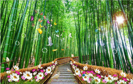 $enCountryForm.capitalKeyWord Canada - 3d room wallpaer custom mural non-woven photo Bamboo lane landscape decoration painting picture 3d wall murals wallpaper for walls 3d