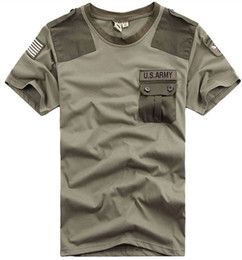 Barato Venda De Shorts Limitada-Limited On Sale 2016 Summer Brand Free Knight Outdoor U.S. Exército Men T Shirt Short Sleeve Airborne T-Shirts. Casal T-shirt
