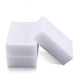 Blanc magique éponge de mélamine 100 * 60 * 20mm gomme de nettoyage éponge multi-fonctionnelle sans sac d'emballage outils de nettoyage de ménage en Solde