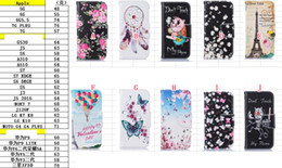 $enCountryForm.capitalKeyWord NZ - Cartoon Wallet Leather Pouch Case For Iphone 7 Plus I7 6 6S SE 5 5S Stand ID Card Money TPU Flower Butterfly Balloon Cat Dream catcher Cover