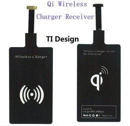 Modules Design Canada - Qi Wireless Charger Receiver Module TI Design High Speed Charging Adapter For 7Plus 5S Samsung Galaxy S4 S5 Note3 Note4