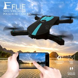 2.4G Mini RC Drone 0.3MP HD Camera Portable Foldable Selfie Pochette pliable Quadcopter Altitude Hold Sans tête WIFI FPV RC Helicopter JY018