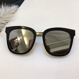 China Butto Call Luxury Women Brand Designer Sunglasses Square Designer UV protection Cat Eye Model Full Frame Black Color Frame Come With Case cheap uv model women suppliers