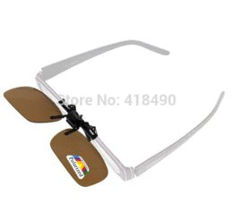 $enCountryForm.capitalKeyWord Canada - 1PCS Polarized Flip Up Sunglasses Clip Eyeware Myopia Glasses For Fishing Driving Traveling Sunglass Oculos Cheap glasses male