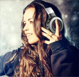 $enCountryForm.capitalKeyWord Canada - ZEALOT B19 LCD Display HIFI Brass Bluetooth Headphones Wireless Stereo Earphone Headphone with Mic Headsets Micro-SD Card Slot FM Radio