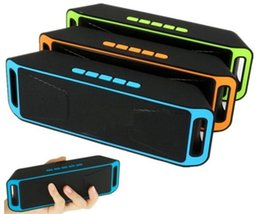 Mini woofer bluetooth online shopping - Mini Portable Wireless Stereo Bluetooth Speaker with FM TF slot Super Bass sub woofer for all phones SC