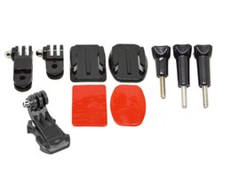 China Front Mount Sets For Gopro Hero6 black hero 5 4 3 2 Gopro Accessories With Kit Adjustment Curved Adhesive Bracket J-Hook Buckle GP64 suppliers