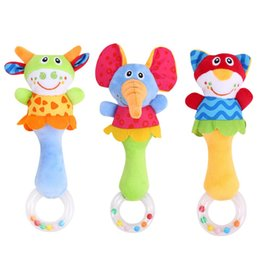 $enCountryForm.capitalKeyWord Australia - Baby Rattle Toys Animal Hand Bells Plush Toy Baby Music Rattle for Kid Bed and Stroller