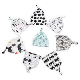 Beanie BaBies tiger online shopping - INS Newborn Hat Fashion Cartoon Fox Beanies Panda Tiger Hats Christmas Pointy Caps Baby Accessories Free Shipment
