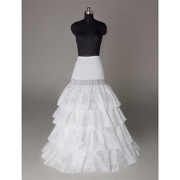 $enCountryForm.capitalKeyWord Canada - Plus Size Bridal Crinoline Petticoat Skirt 3 Hoop Petticoats For Ball Gowns Wedding Accessories High Quality Real Sample In Stock