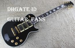 China HOT SALE Custom Peter Frampton Signature Ebony Fingerboard Electric Guitar, Gold Hardware 3 Pickups Black China Guitar Factory Direct suppliers