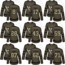 db68e7eb5 Discount hockey jersey pittsburgh 71 Womens 2018 New Style Pittsburgh  Penguins 87 Sidney Crosby 59 Jake