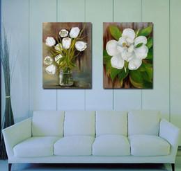 $enCountryForm.capitalKeyWord Canada - Contemporary Beautiful Flower Painting Giclee Print On Canvas Home Wall Decoration Art Set20032