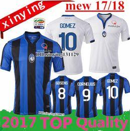 fac62d8e35a ... WORLD CUP Away WHITE Replica Jersey FOOT B340 2017 2018 new Italy club  Atalanta Bergamasca Calcio home blue soccer jersey football shirt 17 18 ...