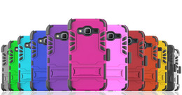 Cell Phone Cases For Samsung Galaxy Canada - Hot Sell 3 in 1 Super Combo Clip Case Shockproof Cell Phone Cases With Kickstand For Samsung Galaxy J3
