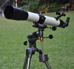 Astronomy Telescopes Australia - Visionking 90mm 90-1000 Equatorial Mount Space Refractor Astronomical Telescope Outdoor Sky Observation Astronomy Telescope