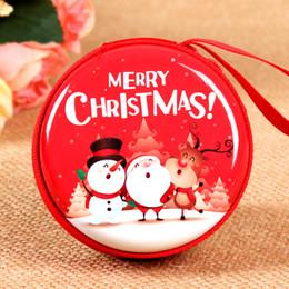 $enCountryForm.capitalKeyWord Australia - HOT Christmas wallet child's Xmas cartoon purse 10 styles bag for student kid best Christmas gift Free shipping