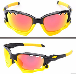Boys Bike Bicycle Cycle Canada - Men UV400 Cycling Glasses Outdoor Sport Mountain Bike MTB Bicycle Glasses Motorcycle Sunglasses Eyewear Oculos Ciclismo J042