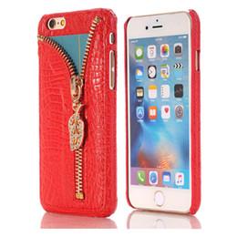 DiamonD apple penDant online shopping - New V ERUS Case For iphone Luxury PU Leather Case Diamond Zipper Pendant Case Bling Bling Case For Iphone DHL Free SCA195