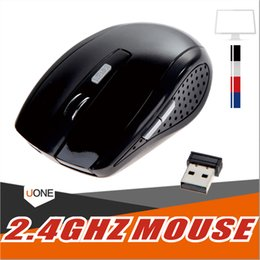 tablet sleep Canada - 2.4GHz Optical Wireless Mouse Receiver mouse Smart Sleep Energy-Saving Mice for Gaming Computer Tablet PC Laptop With Retail Box