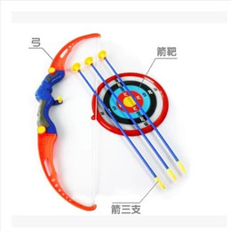 wooden archery bow Canada - Free shipping outdoor indoor Traditional Archery Toys Bow and arrow combination With arrows and target Olympic archery practice with a toy