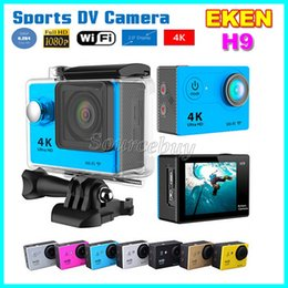 Action Camera Hdmi NZ - Action Cameras EKEN H9 Ultra HD 4K Wide-angle Lens 170° WiFi Control HDMI Waterproof 30M 2inch LCD Mini Sports Camera Car DV DVR