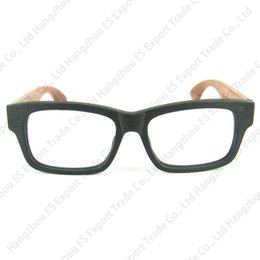 e72dd53f3b Wooden Hand Made Vintage Eyeglasses Frame Plank Acetate Frame Wood Temples  Good Quality 3 Colors Retail Free Shipment