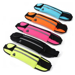 6inch Phones Canada - Multi Function Universal Sports Belt Sports Bag Sports Waist Pouch for Mobile Phone 6inch or Below