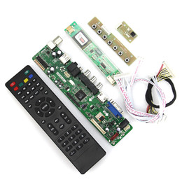 vga lvds controller UK - Wholesale-T.VST59.03 LCD LED Controller Driver Board For LP154W01-A3 LTN154X3-L01 (TV+HDMI+VGA+CVBS+USB) LVDS Reuse Laptop 1280x800
