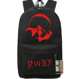 Fans Pack Canada - Weiss Schnee backpack RWBY girl packsack Fans school daypack Quality pack bag Nylon rucksack Hot sale day pack