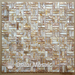 Vintage mosaic tile online shopping - natural dapple color Chinese freshwater shell mother of pearl mosaic tiles for interior house decoration kitchen and bathroom wall tiles