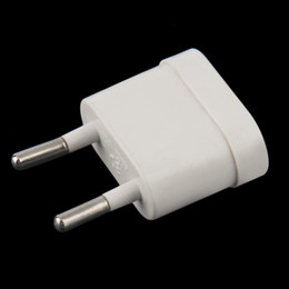 Plug For Europe Canada - 10A 4.8MM Charger Wall AC Power Plug Adapter Converter Europe EU to US USA
