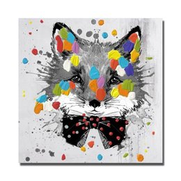 $enCountryForm.capitalKeyWord NZ - 1panel Modern Cat Painting on Canvas Home Decor Living Room Wall Pictures Hand made Oil Painting On Canvas Animal Art No framed